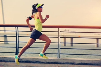 Running will benfit your day.
